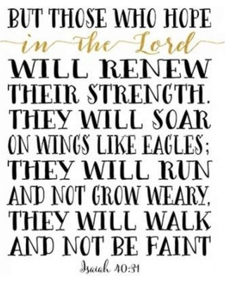 Isaiah 40-31 Photo